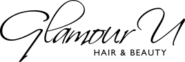 Logo Glamour U Hair & Beauty